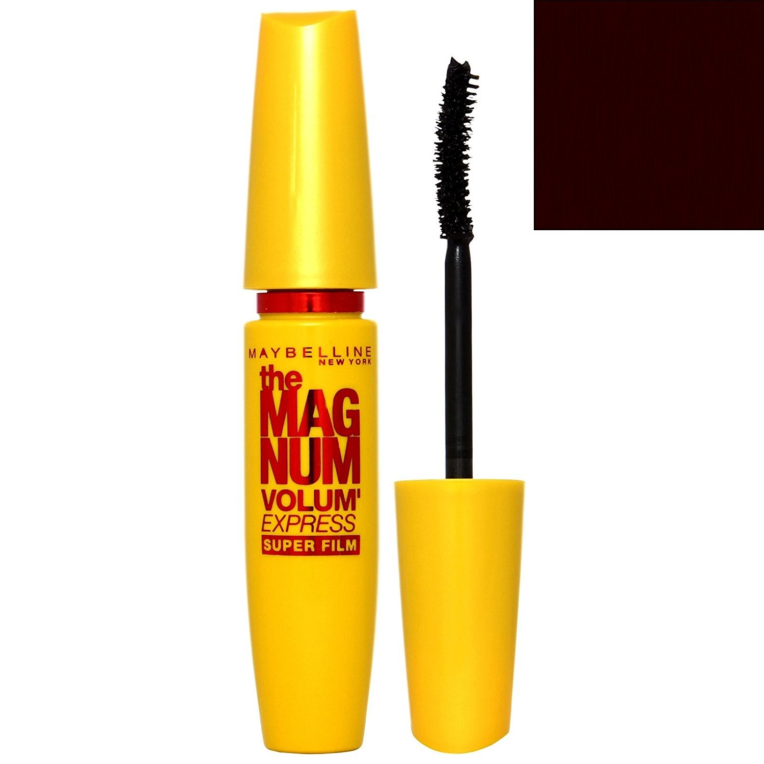 Maybelline The Magnum Volum' Express Superfine Mascara - Washable Black