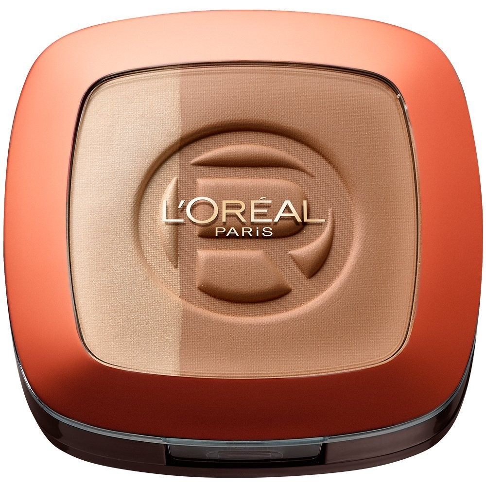 L'Oreal Glam Bronze Duo - 102 Brunette Harmony