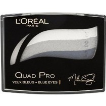L'Oreal Quad Pro Eye Shadow Palette - 337 Saphire Crystal