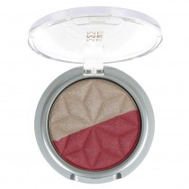 Me Me Me Metallic Duo Eye Shadow - 02 Champagne Rose